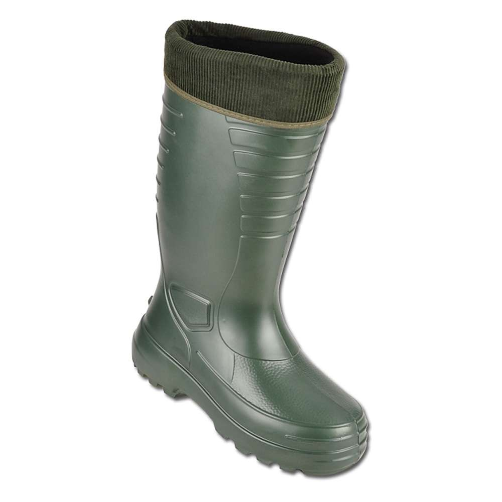 f900a711a4 Stiefel - Gr. 39 - grün - 100% EVA - mit herausnehmbare Einziehsocke mit