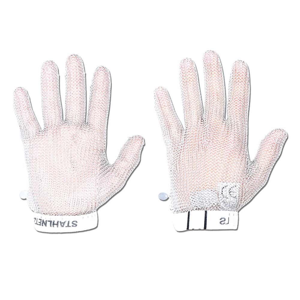 """Arbetshandskar med stickskydd - 5 fingrar """"höger"""" - rostfritt stål"""