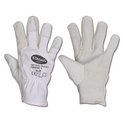 "Nappa Leather Working Gloves ""SIALKOT"" - Sheep Nappa Leather - Norm: EN 388 Cat."
