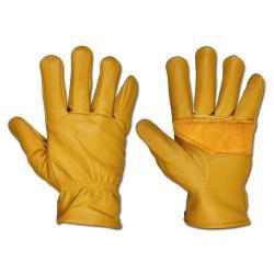 Läderhandskar - Dickies - ljusbrun