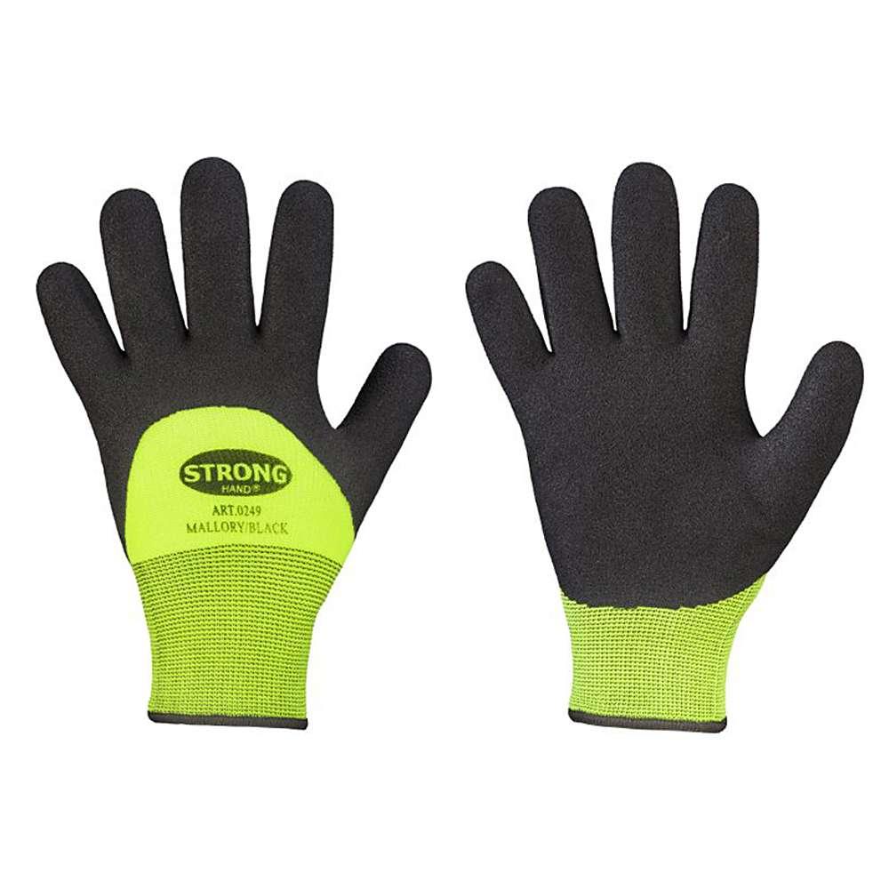 "Handschuh ""Mallory"" - EN 388/511 - 100% Acryl - gelb/schwarz"