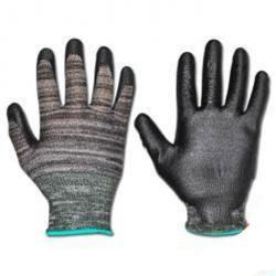"""Restposten - Handschuh - """"Chico"""" EN 388 - grau/schwarz sehr gute Passform - Größe 8 -  Preis per Paar - Größe 8"""