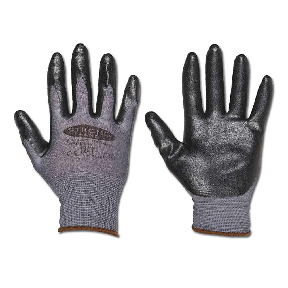 "Stickad handske ""Datong"" - Cat 2 -. Storlek 7-10 - stronghand®"