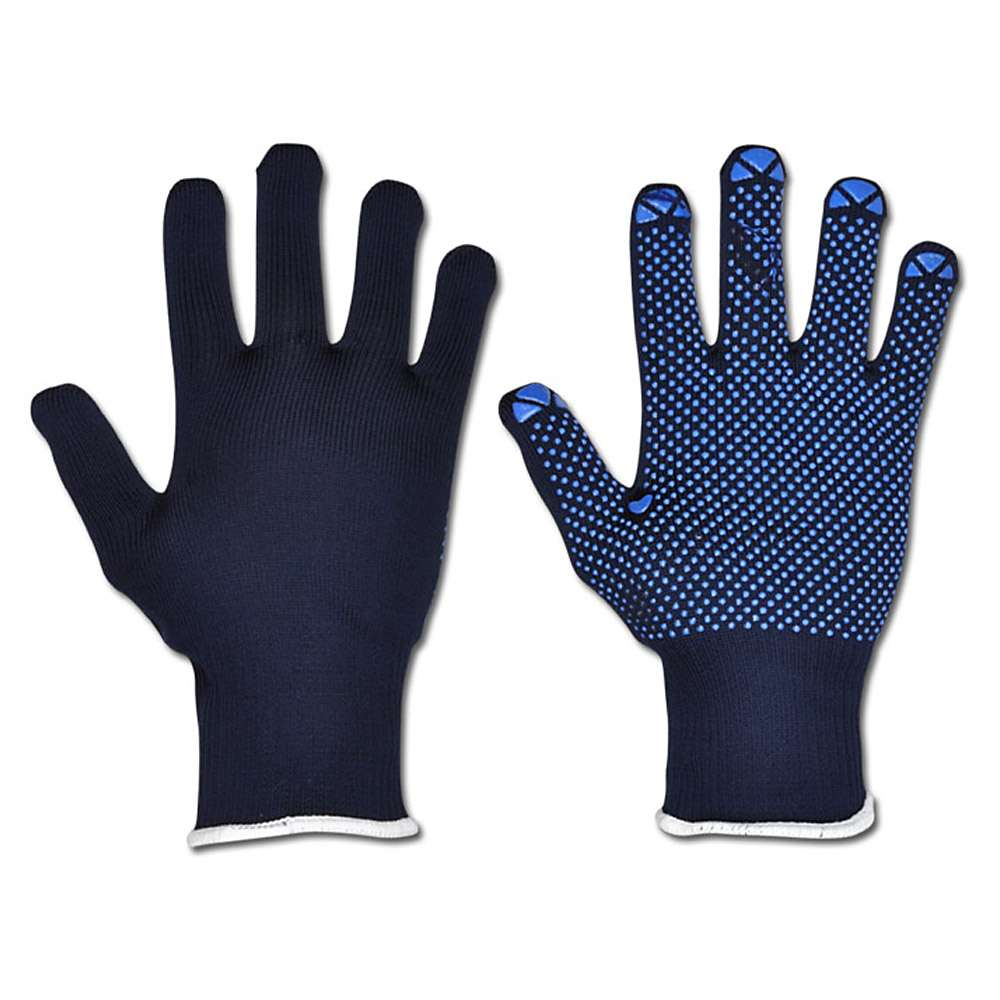 """Stickad handske """"packare"""" - Cat 2 -. Blå - storlek 7-10 - FORTIS"""