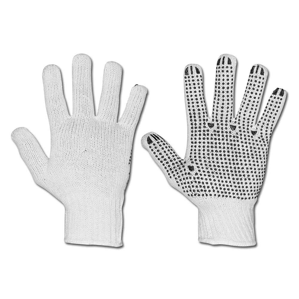 Stickade handskar - PES - sidig ruggade - Cat 2 -. Storlek 9/11