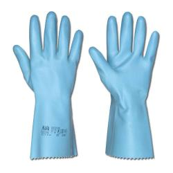 """Naturlatex Handske """"Jersette 300"""" - Blå - Kategori 2 - MAPA®"""