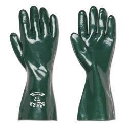 Chemikalien-Schutzhandschuhe - Länge 28 bis 60 cm - grün
