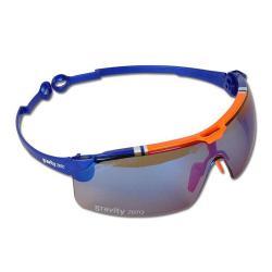 """Restposten - UVEX Schutzbrille - gravity zero 9191 ohne Z-Faltung - Sonderedition """"racing col"""