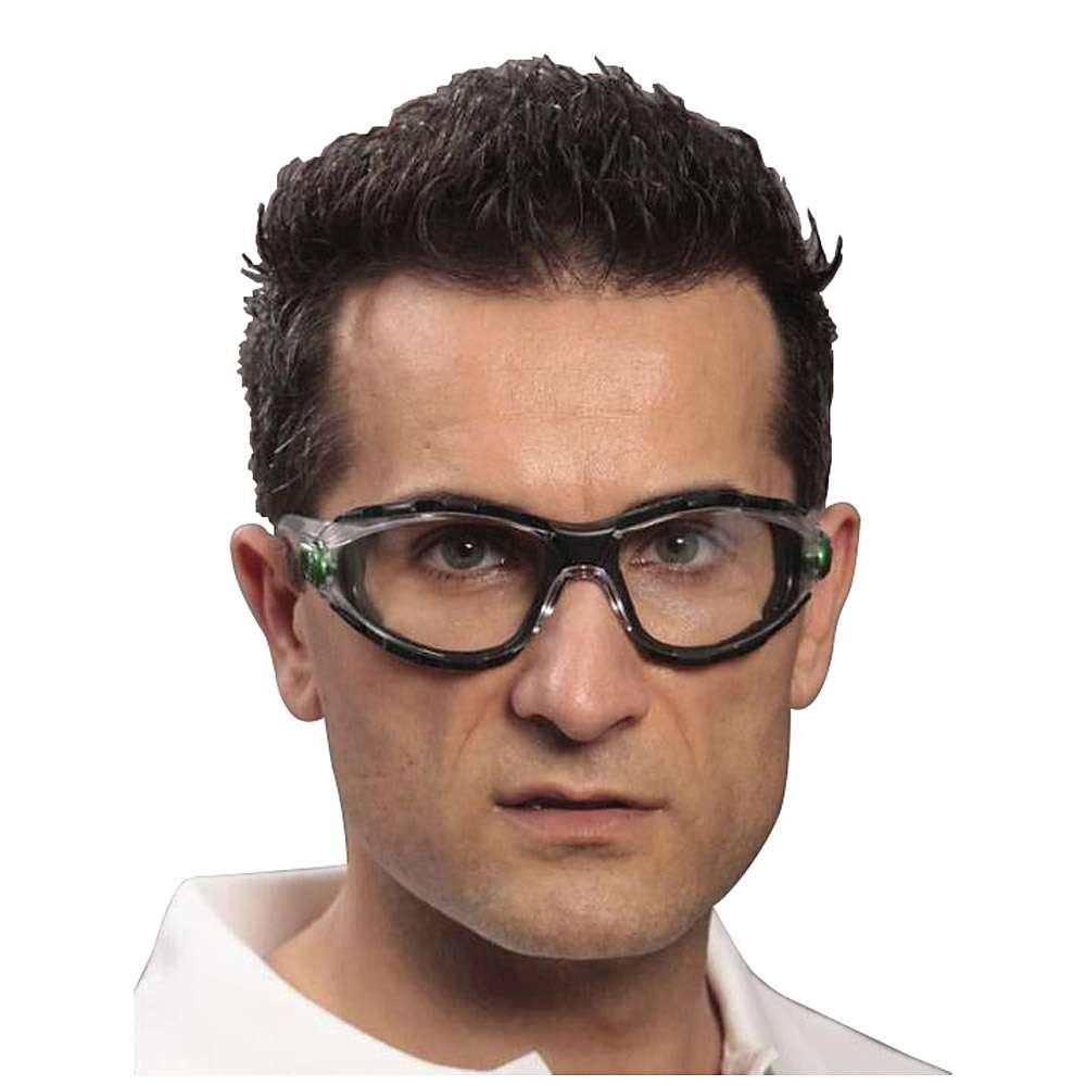 Schutzbrille CARINA KLEIN DESIGN™ - Material Sichtscheibe PC - reflektierender Zusatzschutz - klar oder dunkelgrau verspiegelt