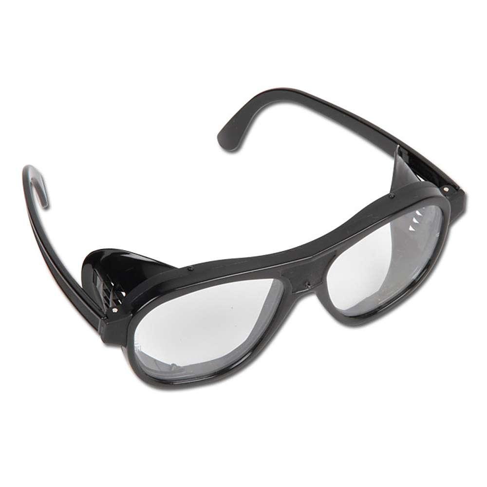 Mehrzweckschutzbrille 870 - PC farblos - Rahmen schwarz