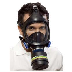 """Full ansiktsmask - """"C 607 / Selecta"""" - Klass 2 - Med runda trådanslutning DIN EN 148-1 - 2 Coola utandningsventiler"""