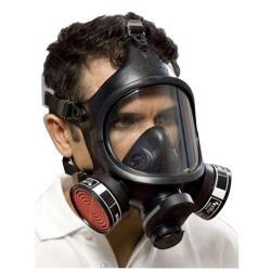Masque complet C 607 / TWIN - Classe 2 - DIN EN 136 (sans filtre)