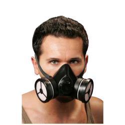 Halvmaske Polimask DUPLO Combi A1-P1R D - DIN EN 140, DIN EN 14387 \ n