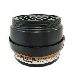Kombinationsfilter 200 A2-P3R D - DIN EN 14387 - 4 Stück