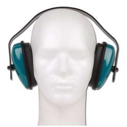 """Protezione udito Tector """"EURO"""" - con staffa in plastica - colore verde - EN 352-1"""