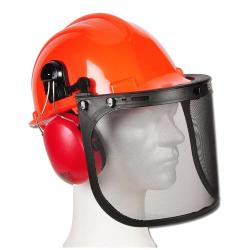 Skyddset med hjälm - Dickies - EN166 + EN169