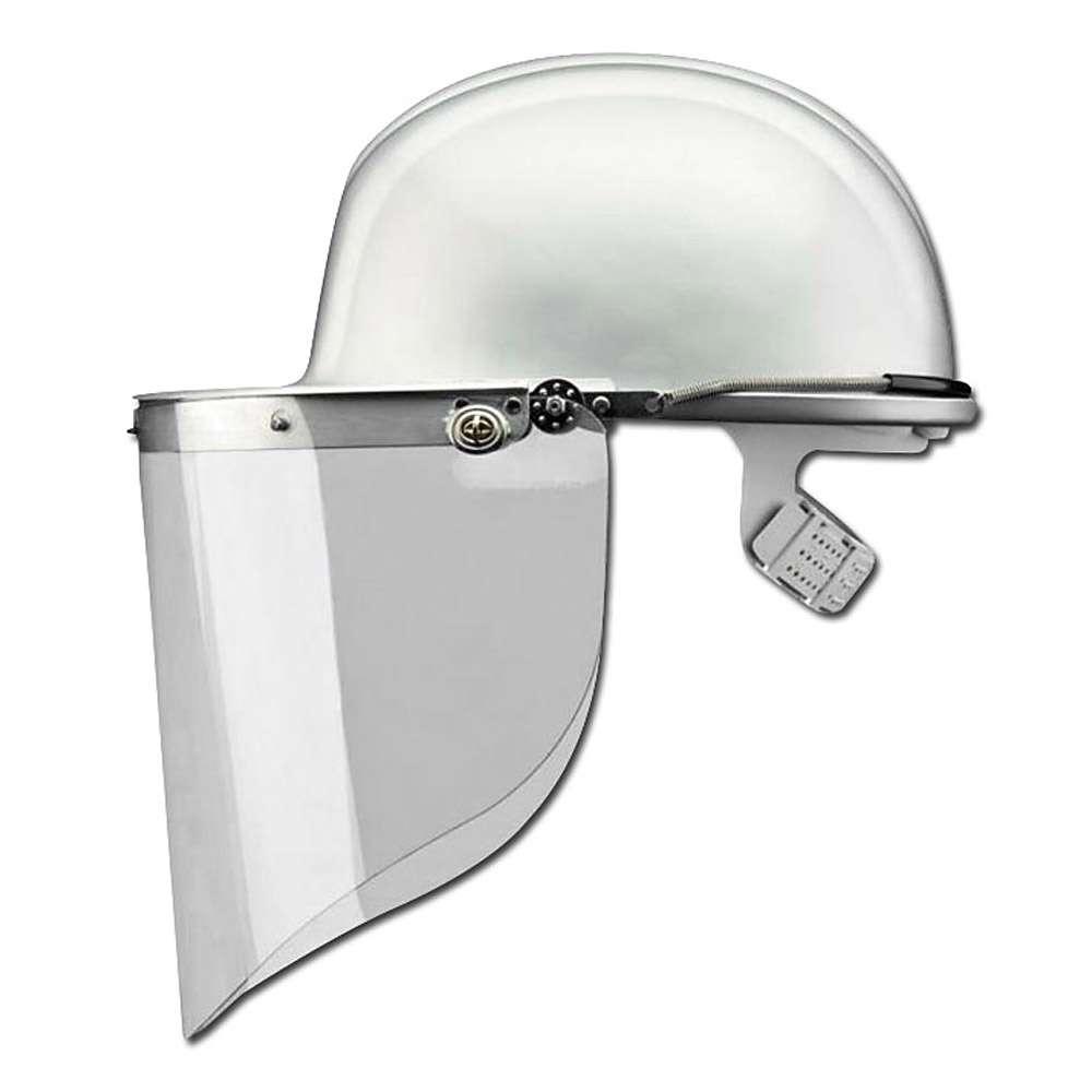 Gesichtsschutzschild, glasklar - aus Polycarbonat - VOSS