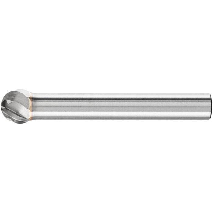 Frässtift - PFERD - Hartmetall - Kugelform - Schaft-Ø 6 mm - für NE-Metalle etc.
