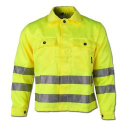 """ALOIS"" - High Visibility Jacket - Orange Color - Safe Style - EN 471/2 - Blende"