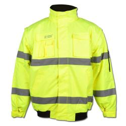 """Høj synlighed pilot jakke """"Roland"""" - 100% PES - En 471"""