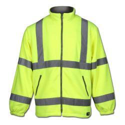 Giacca ad alta visibilità in pile - Dickies - colore giallo