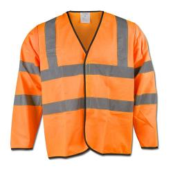 Varseljacka - EN471 / 2 - 100% polyester - stl. S (37/38) - orange