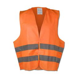 """OSKAR"" - Polyester High Visibility Vests - Orange Color - WICA-TEX - EN471/2 -"