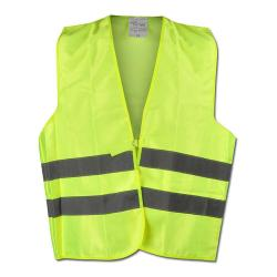 """WALTER"" - Hi Vis Vest - Yellow Color - WICA-TEX - EN471/2 - Blended Fabric"