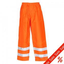 """Warn Regenhose """"Warnwetterschutz"""" - 100% Polyester - EN 471, EN 343 - XXL - uni orange"""