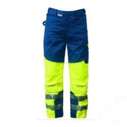 """Restposten - Warnschutzbundhose """"MARIO"""" - 60 % Polyester/ 40 % Baumwolle - Größe 46 - fluoreszierend"""