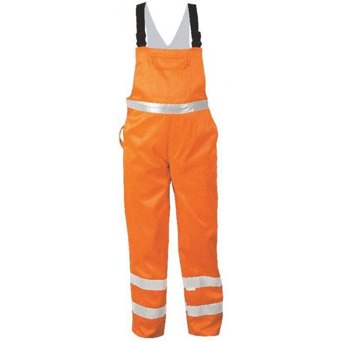 """Synlighed overalls """"KURT"""" - Safe Style - Mishgewebe - orange - EN 471/2"""