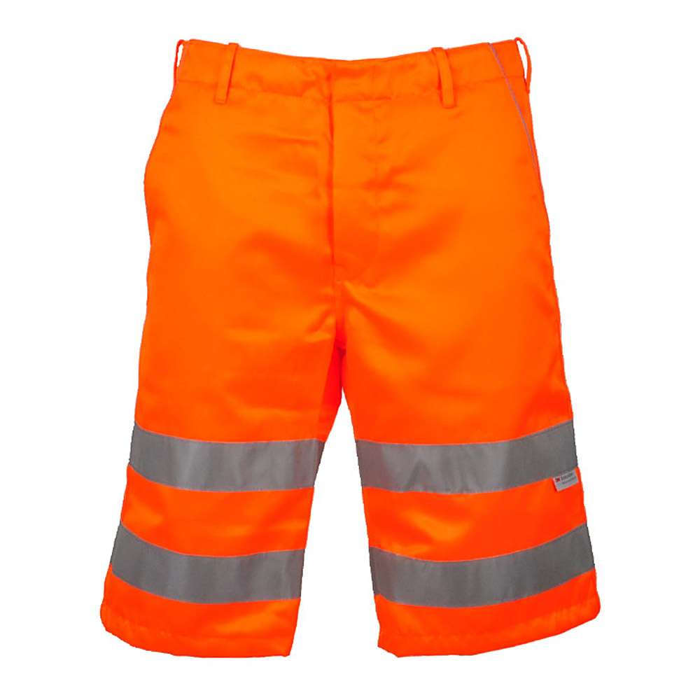"Varselshorts ""PETER"" - orange - EN 471/1 - blandväv"