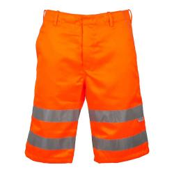 """PETER"" - Hi Vis Shorts - Orange Color - EN 471/1 - Blended Fabric"