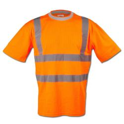 "Safety T-Shirt ""BRIAN"" - 25/75% MG - 185 g/m²"