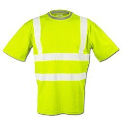 """Høj synlighed shirt """"STEVEN"""" - 25/75% MG - 185 g / m²"""