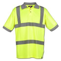 Poloshirt Dickies - Warnschutz - hochsichtbar - EN471 Klasse 2 Stufe 2 - Größe XXL - gelb