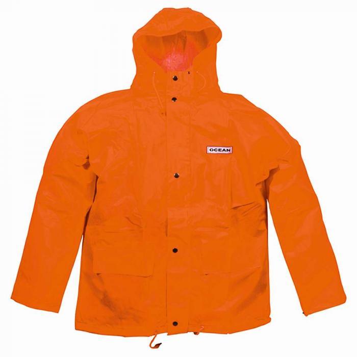 3f45abd5 Regnjakke - Ocean - Vanntett - Ventilasjon - Polyester - Størrelse S til 3XL  - Oransje