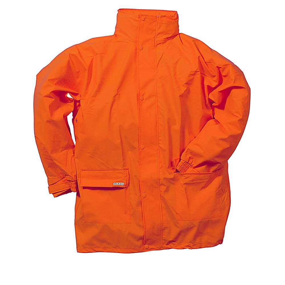 Jacke - Ocean Comfort Stretch - 210g PU - Kältebeständig - XS bis 4XL - Orange