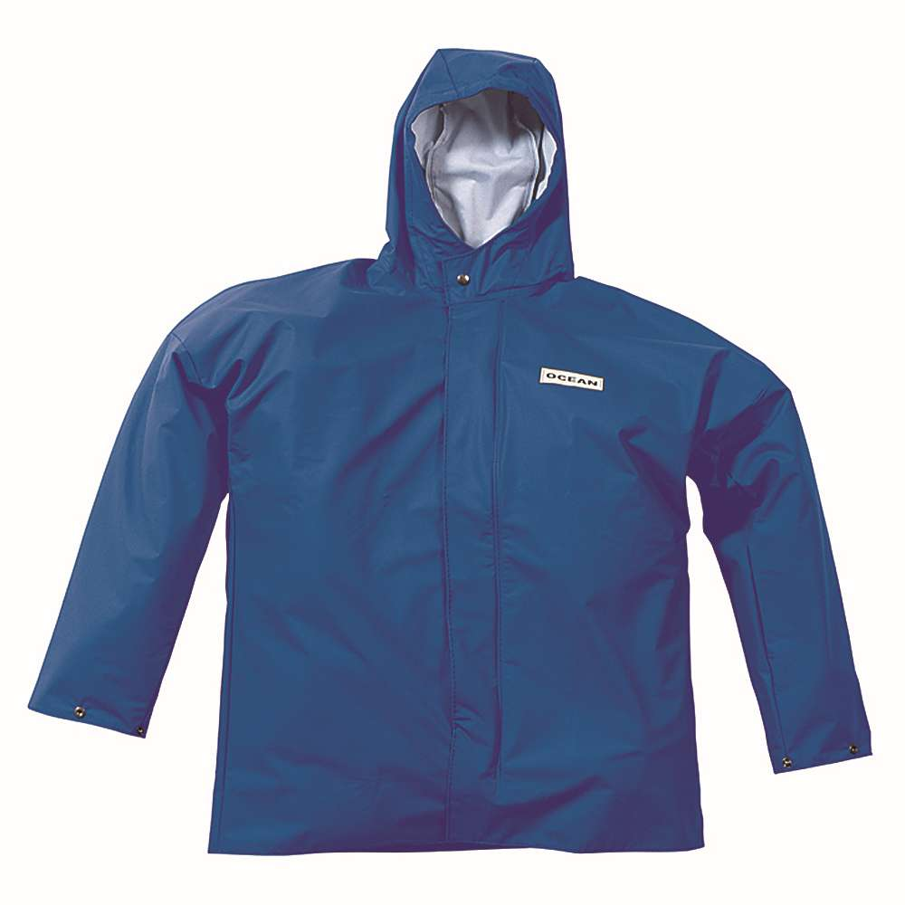 Regenjacke - Ocean Comfort Heavy - Größe S bis 3XL - Farbe Königsblau