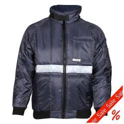 Jacka - 100% Nylon Oxford - EN 342 - storlek L - marinblå