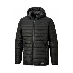 Steppjacke Stamford - Dickies - 230T Dobby-Polyester - Größe XL - schwarz/grau