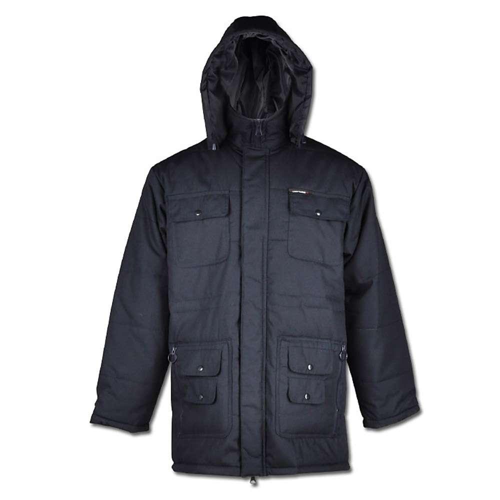 """Craftlandparka """"Sherpa"""" - 65% Polyester/ 35% Baumwolle - marine - Größen S - XXXL"""