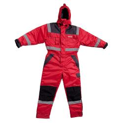 Thermo Overall - Ocean - Atmungsaktiv - Oxford Nylon - Größe XS bis 8XL - Rot