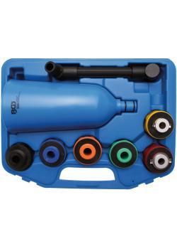 Oil-adaptateur de remplissage de l'appareil ensemble - 2 litres trémie - version en plastique
