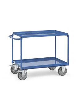Table trolley - with buckets - supporting capacity 400 kg - color blue