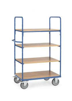 Shelf truck - carrying capacity 500 kg - Overall height 1800 mm