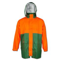 "NORWAY ® PU-forest rain jacket - ""PAPPEL"" Size S to XXXL"