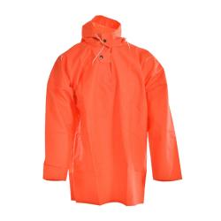 Fisher blouse - Ocean - with hood - Water column > 20000 mm - S to 3XL - Orange