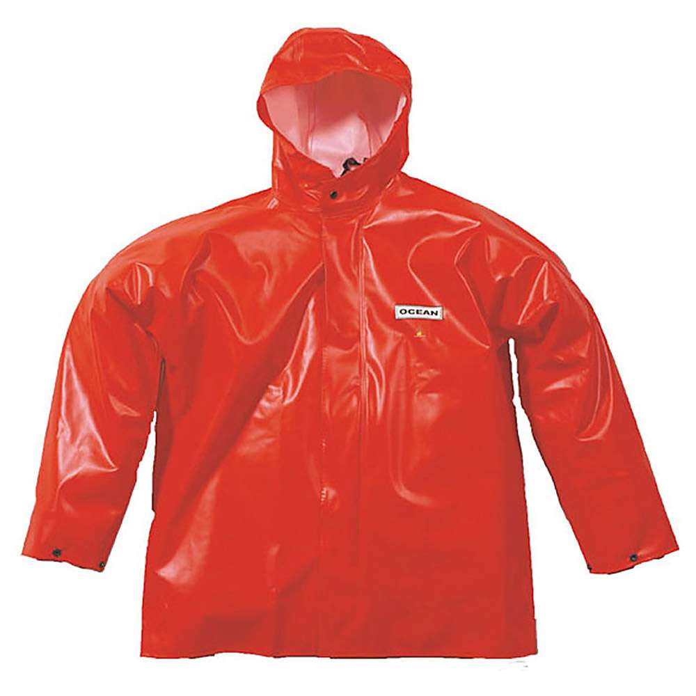 Offshore Jacket - Ocean - Flame retardant - Oil and grease resistant - S to 8XL - Orange