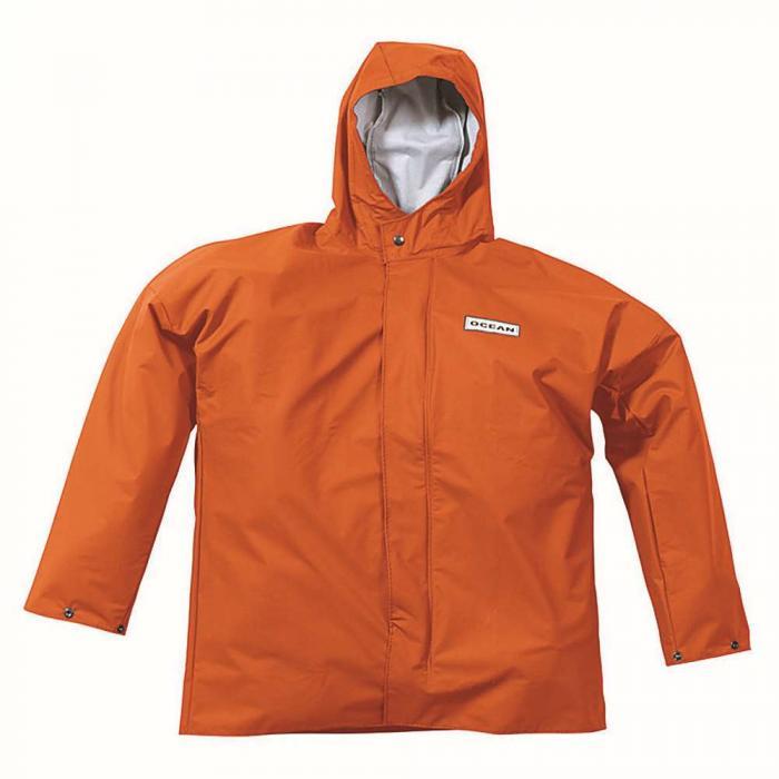 9f473416 Regnjakke - Ocean - kuldebestandig - Størrelse S til 3XL - Oransje